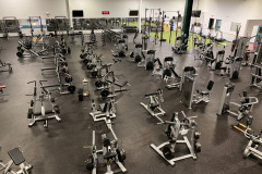 Fitness: Main weight training floor:  10,000 sq. ft. of new Precor equipment