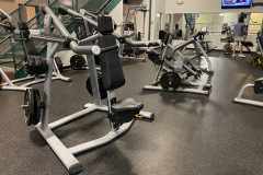 Fitness: Main weight training floor:  Featuring Precor equipment