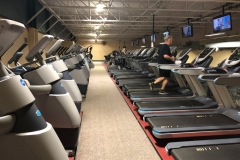 Wellness Center: Cardio Loft - Treadmills, Adaptive Motion Trainers and more
