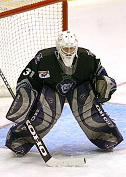 Terry Denike as a Reading Royals